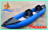 Double Inflatable Kayak, PVC Fishing Boat for Sale