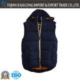 Dark Blue and Orange Fashion Sleeveless High Quality Padding Vest