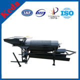 Mini Alluvial Gold Mobile Trommel Screening and Washing Plant
