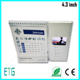 4.3 Inch LCD Video Player for Hot Sale