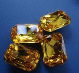 Rectangular Octagon Loose Beads, Fancy Crystal Stones, Strass