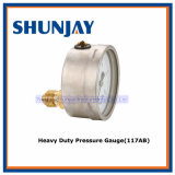 Heavy Duty Pressure Gauge (117AB)