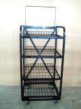 Wire Shelf Display Rack Floor Display Stand