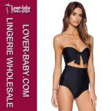 Beach Girls Black One Piece Bikini Swimsuit (L32531)