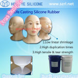 Food Grade Liquid Silicone with Silicone Man Dolls for Women