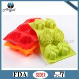 Holiday Promotional 6 Flowers Silicone Baking Tool Silicone Bakeware Sc19