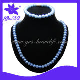 Fashion Tourmaline Beads Necklace (2015 Gus-HNS-024)