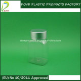 Metal Cap 60ml Rectangular Medicine Bottle