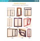 China Aluminium Wooden Grain Window Factory Price