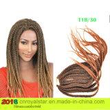 Synthetic Hair Senegal Twist Braid Dreadlock Hair Extension