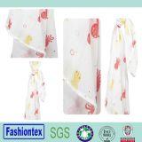 Eco-Friendly Softly Bamboo Wrap Washcloths Custom Print Blanket
