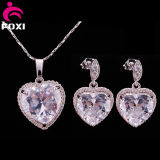 Wholesale Competitive Prices Jewelry Set with Love Heart Necklace