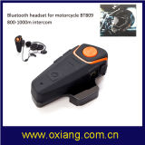 800m-1000m OX-BT809 Motorcycle Intercom Helmet Headset