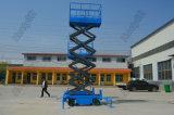 Semi-Automatic Movable Scissor Aerial Goods Lifting Platform