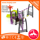 Purple Steel School Facilities Playground Children Outdoor Slide