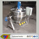 Tilting Type Electric Heating Jacketed Cooking Pot with Scraper
