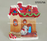 Light up Festive House Ornament Christmas Home Decoration Gift