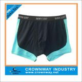 Fashion Men′s Boxer Underwear with Custom Color