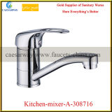 Single Lever Brass Deck Mounted Sink Water Tap