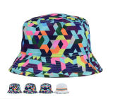 High Quality Wholesale Colorful Cotton Camo Bucket Hat