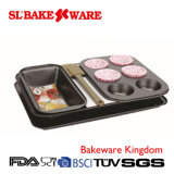 5 PCS Bake Pan Sets Carbon Steel Nonstick Bakeware (SL BAKEWARE)
