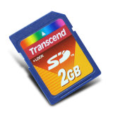 Transcend 2g SD Secure Digital Memory Card 2GB SD Card