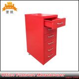 Jas-117 Office Colorful Helmer 6 Drawers Chest of Drawers Mobile File Cabinet