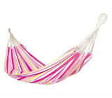 Stripe Multicolor Printing Pattern Cotton Garden Hammock
