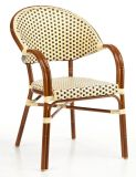 American Style Aluminum Rattan Wicker Bamboo Dining Chair (BC-08017)
