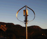Ce Maglev Vertical Wind Generator Could Afford 65m/S Strong Wind