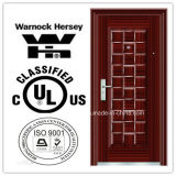 BS476 and UL Certificate Steel Fire Door, Fire Rated Door with Competitive Price
