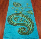 (BC-TB1005) Hot-Sell 100% Cotton Colorful Terry Bath Towel