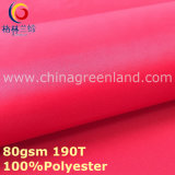 Plain Dyeing Pongee Polyester Taffeta Fabric for Textile Lining (GLLML298)