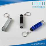 Fashion Keychain Light Aluminum Alloy Flashlight Keychain