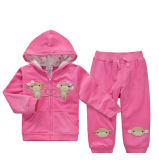 Cartoon Unisex Lovely Soft Cotton Warm Baby Suit