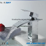 Modern Chromed Single Handle Basin Water Faucets