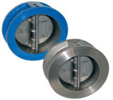 Cast Iron Body Butterfly Dual Plate Wafer Check Valve