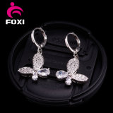 2016 Fashionable Glamour of Four Petals Design Earrings for Gift