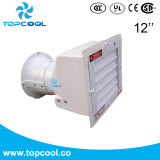 """Square Side Wall Exhaust Fan 12"""" Ventilation Solution Poultry Equipment"""