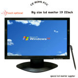 """Wide Screen 19"""" LCD Monitor with 4-Wire/5-Wire Resitive Touch"""