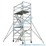 Construction Mobile Aluminum Scaffold Tower