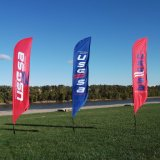 Beach Flying Banner for Advertising