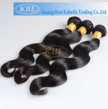 Natural Wave Peruvian Human Hair in Large Stock