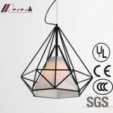 Hot Sale Black Polygon Pendant Lamp for Hotel Project