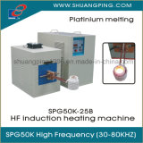 High Frequency Induction Melting Machine Spg50K-25b 25kw 30-100kHz