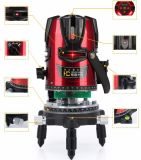 8 Lines Red Light Rotary Red Laser Level