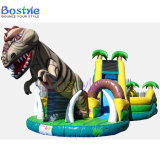 Dinasaur Inflatable Obstacle Course, Inflatable Jumping Castle Combo