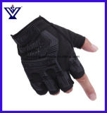 Tactical Combat Half Gloves Outdoor Fitness Antiskid Sports Gloves (SYSG-1852)