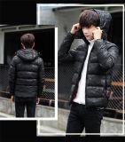 Fashion Black Waterproof Warm Winter Men′s Down Jackets