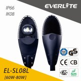 Everlite 60W COB LED Street Light with IP66 Ik08